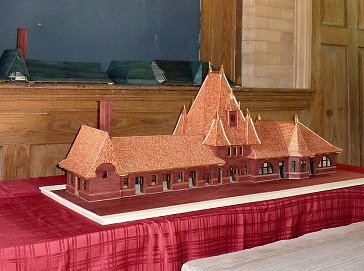 Model of the restored Depot